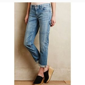 Carpenter jeans paint splatter anthropologie